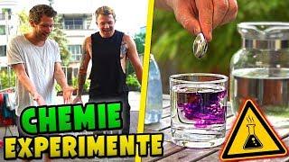 EXPERIMENT: Wir mischen CHEMIKALIEN !