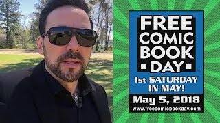 Jason David Frank Promotes Free Comic Book Day