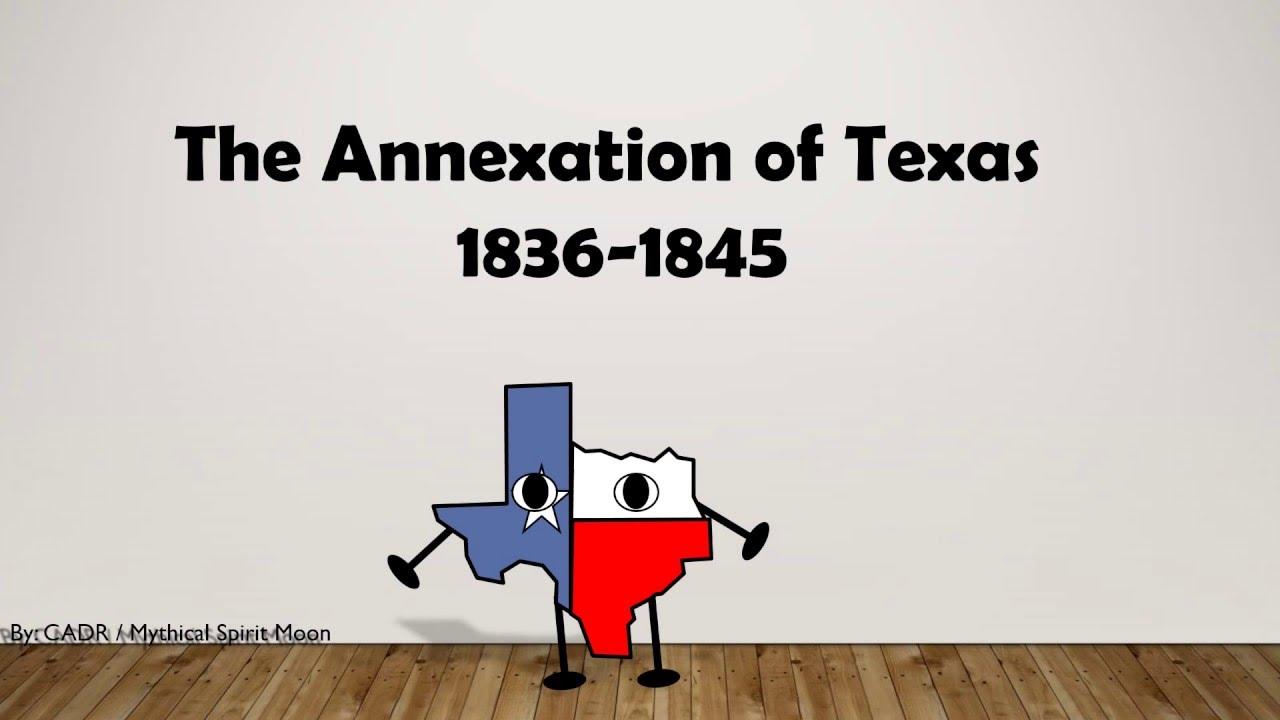 Annexation Of Texas Animation Youtube