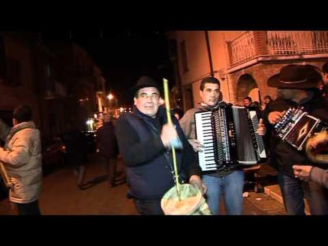 Gambatesa  maitunat notte 31 dic 2010 - organetto Salvatore Regina