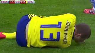 Italy vs Sweden 0-0 Highlights & Goals - World Cup 2018 Qualification 13 Nov 2017