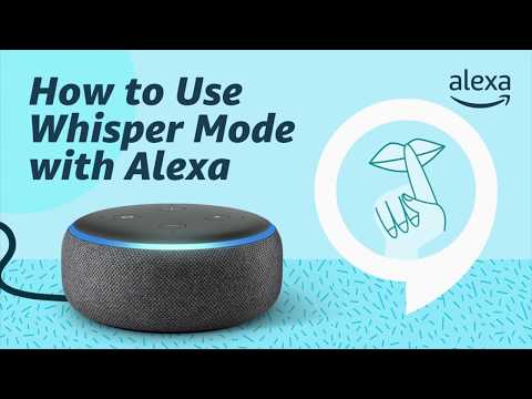 How to Use Whisper Mode with Alexa