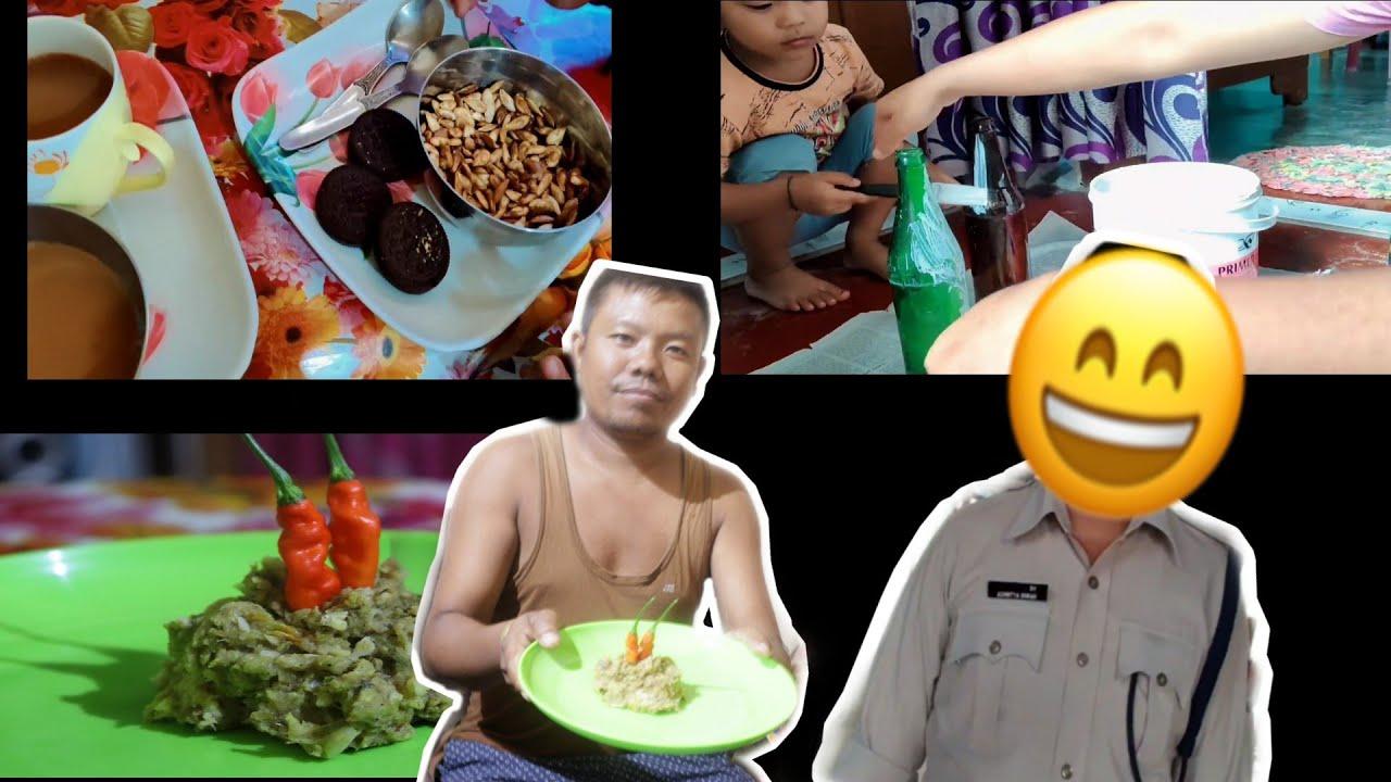 শুকান মাছৰ পিটিকা অলপ বেলেগকৈ / ভাইটিহত ক'ত থাকে কি কৰে??? / Assamese vlog