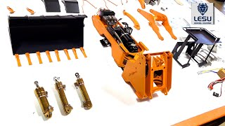 """ALL-METAL LIEBHERR 574 HYDRAULiC Wheel Loader BUiLD! LESU (PT 2) """"MEAT and POTATOES"""" 