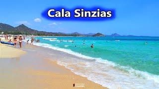 Spiaggia di Cala Sinzias a Castiadas ~ 8 Agosto 2016 | Viaggiare in Sardegna