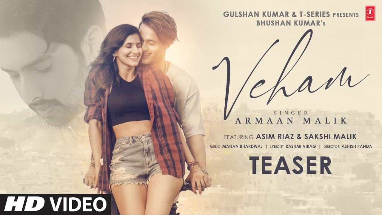 Download Veham Song Teaser: Armaan Malik | Asim Riaz, Sakshi Malik | Manan Bhardwaj | Bhushan Kumar | 14 Dec