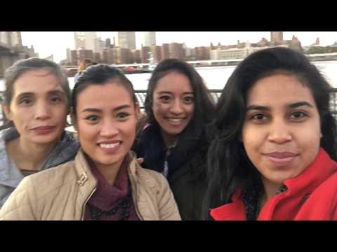 #RiaOHill vlog7 | tour around DUMBO | Jalan-Jalan sekitar Brooklyn