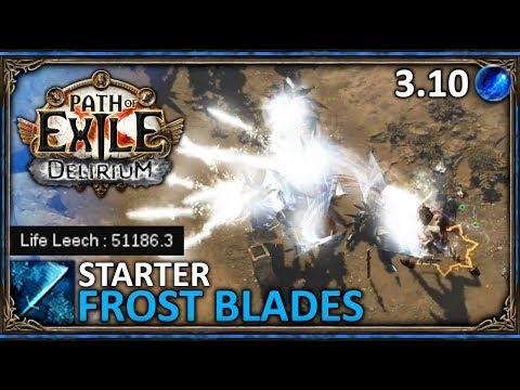 (3.10) Insta Leech Slayer - Frost Blades - Mój starter ◼ Path of Exile: Delirium