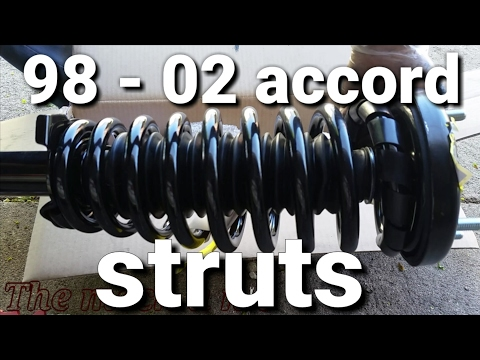 98 - 02 honda accord front strut replacement