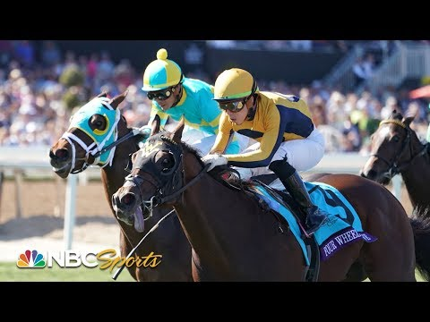 Four Wheel Drive Gives Sire American Pharoah His First Breeders' Cup Winner   NBC Sports