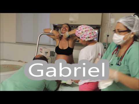 Parto Normal Natural - Humanizado - Vbac - Nascimento do Gabriel