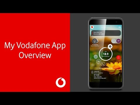 My Vodafone App Overview