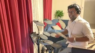 Velvetta Velvetta Song   Mettukudi Tamil Movie Song   Karthik   Nagma   Drum Cover