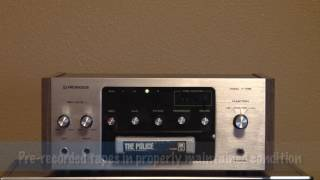 Pioneer H-R99 8 Track Stereo Tape Deck, for sale on eBay, 5/22/17