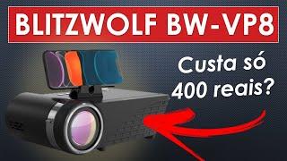 BlitzWolf BW-VP8 - É melhor que o projetor VP1 Pro e VP5?