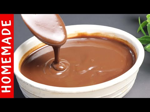 Chocolate Syrup Recipe Homemade Chocolate Sauce Recipe 🍫 By (HUMA IN THE KITCHEN)