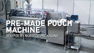 Pre-Made Pouch Fill & Seal…