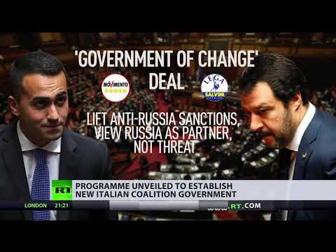 Proposed Italian coalition deal seeks to lift anti-Russia sanctions