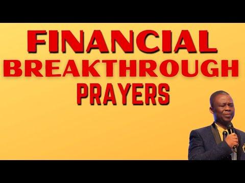 Financial Breakthrough Prayers - Dr Olukoya