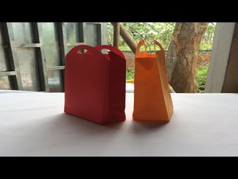 How to make a paper bag | Origami Beautiful and Easy Bag