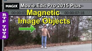 Magix Movie Edit Pro 2015 Plus Magnetic Image Objects