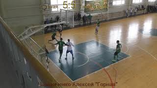 Футбол Горная 8:9 Такси Замок - Голы
