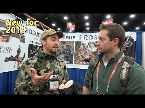 Total Peep ATA 2019 - Release Holder And Hip Quiver