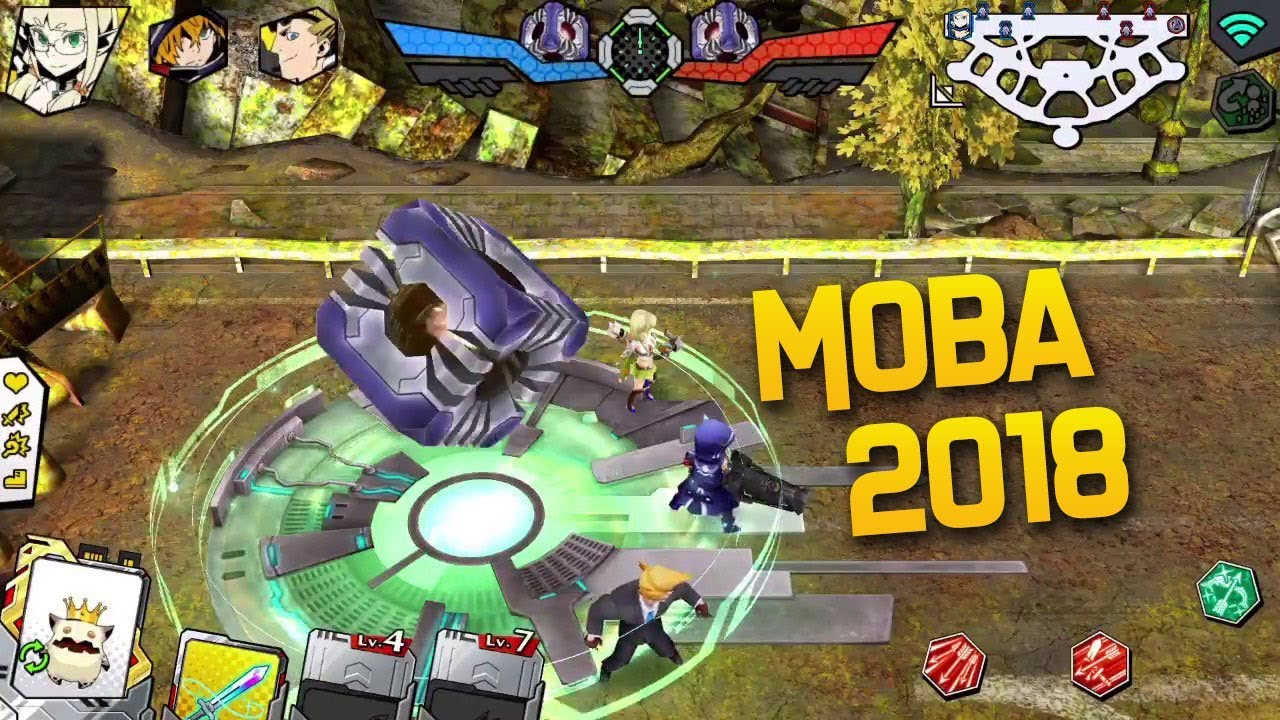 Top 7 New Moba Games For Android Ios 2018 Online Multiplayer