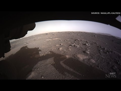 NASA releases first colour images sent from Mars