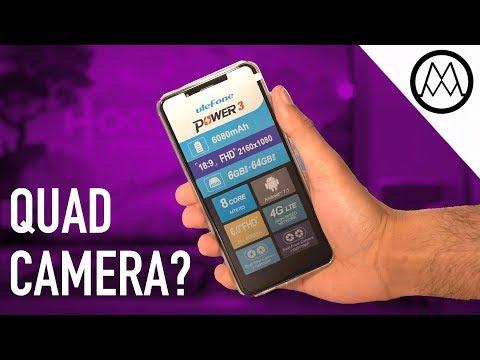 Ulefone Power 3 - Quad Camera Smartphone that last 2 weeks!