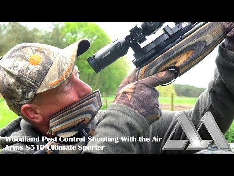 Woodland Pest Control Shooting with the Air Arms S510 Ultimate Sporter