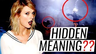 HIDDEN MEANINGS  | ...Ready For It? - Taylor Swift