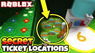 ALL *NEW* SECRET TICKET & JELLY LOCATIONS!! (Roblox Bee Swarm Simulator)