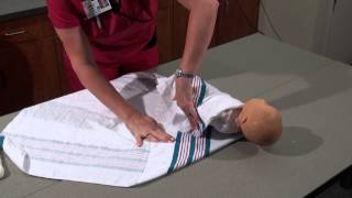 Parenting and Infant Care | How to Swaddle a Baby | Woman's Hospital | Baton Rouge, La.