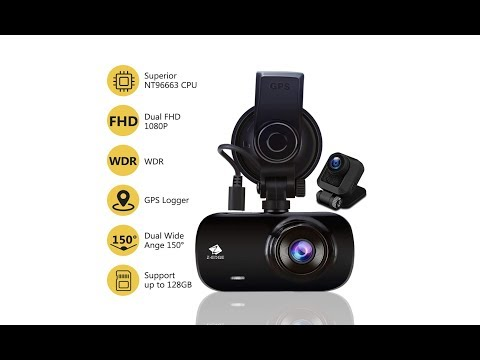 ZEdge Z3D GPS Front And Rear Dashcam 1080p Review