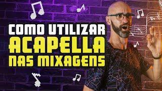 Como utilizar acapella na mixagem DJ | Girando os pino
