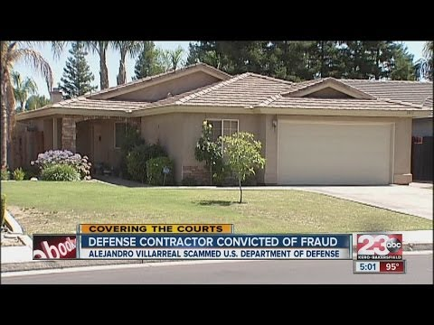 Defense contractor convicted of fraud