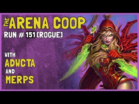 Hearthstone Arena Coop #151 (Rogue)