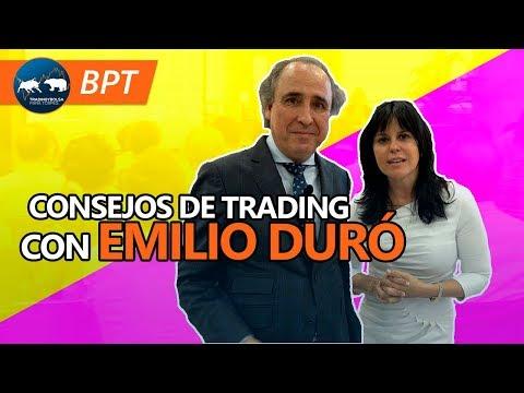 Francisca Serrano y  Emilio Duró - Consejos de Trading