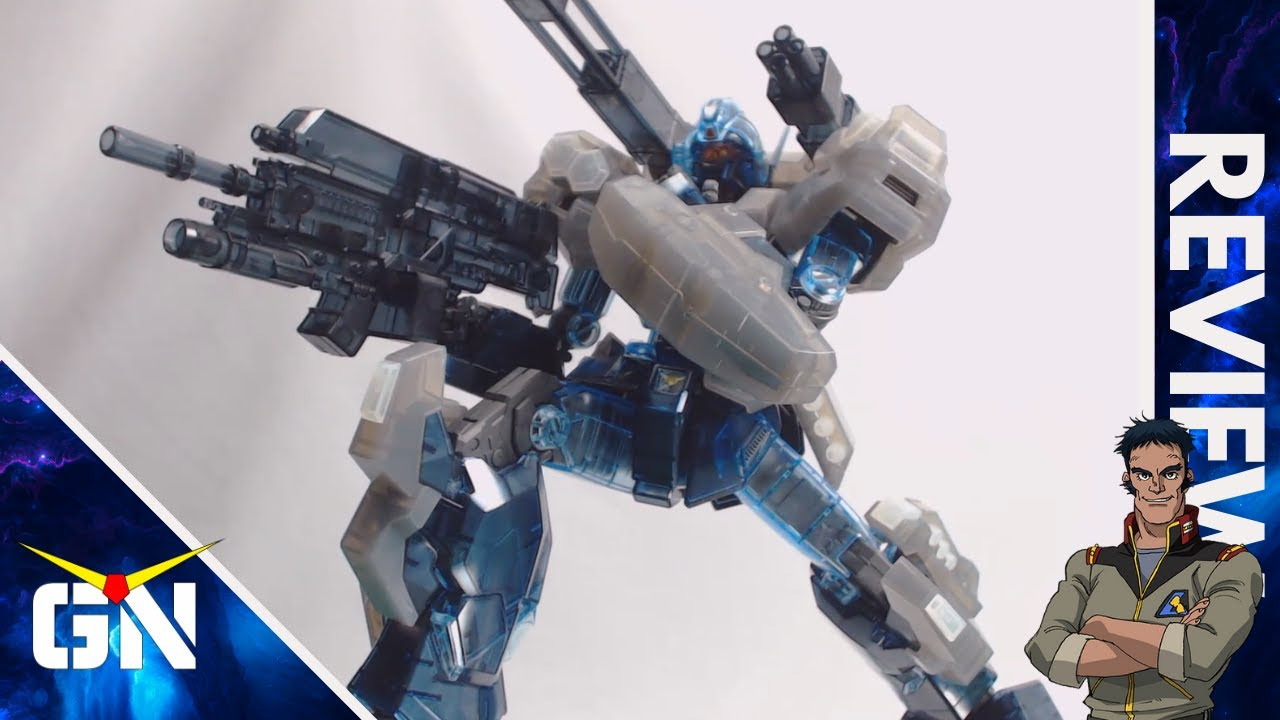 Do You Like Clear Kit? MG 1/100 Jesta Cannon Clear | REVIEW
