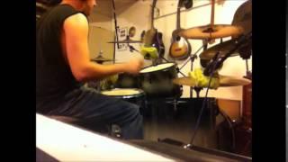 """Summoning Redemption"" Morbid Angel drum cover HQ Audio"
