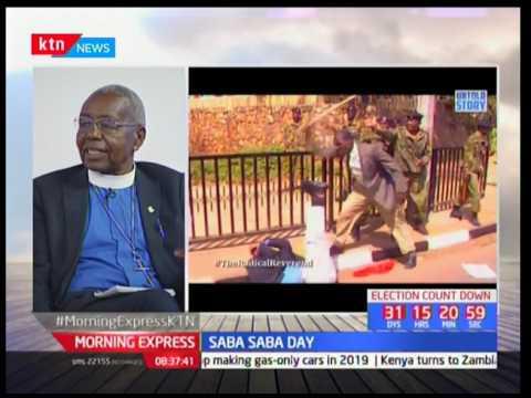 Kenya marks saba saba day with National prayers at Uhuru Park: Reverend Timothy Njoya