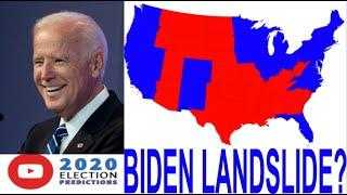 BIDEN'S BEST CASE 2020 ELECTORAL MAP SCENARIO!!!