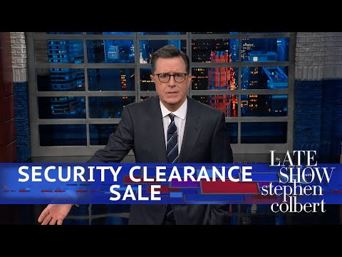 Who Wants A White House Security Clearance?