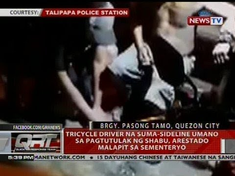 Tricycle driver na suma-sideline umano sa pagtutulak ng shabu, arestado malapit sa sementeryo