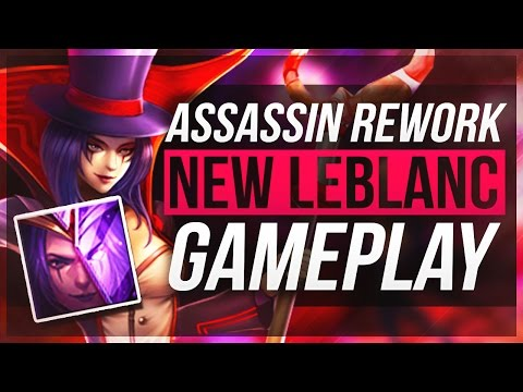 NEW BEST ASSASSIN?? | LeBlanc Rework Gameplay - League of Le