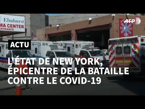 Coronavirus: 100 morts de plus en une journée dans l'Etat de New York | AFP News