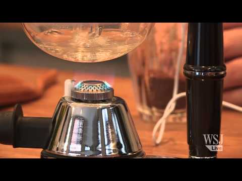 The Chemistry of Good Coffee: The Syphon Method