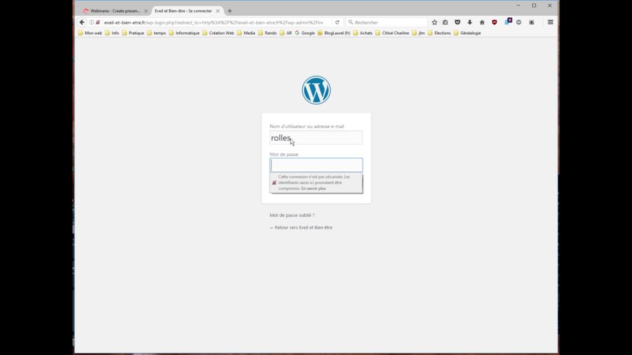 Firefox et les mots de passe - YouTube