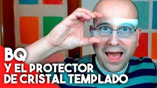 bq y el protector de cristal templado la red de mario